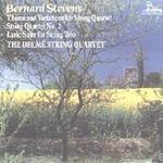 Picture of Cassette of music for String Quartet by Bernard Stevens, performed by the Delme String Quartet.