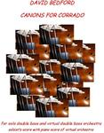 Picture of Sheet music for solo double bass with CD by David Bedford