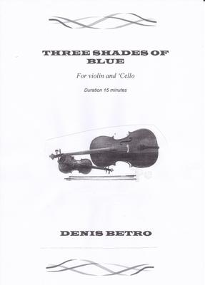 Picture of Sheet music  by Denis Betro. A violinist and cellist play off each other for three movements and boogie their way to the finish.