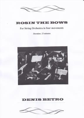 Picture of Sheet music  for violin, viola, cello and double bass by Denis Betro. An effective reworking of guitar riffs and solos from the composer's time as a rock guitarist