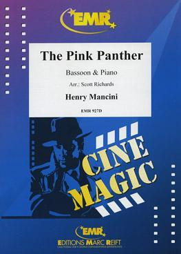Picture of Sheet music for bassoon and piano by Henry Mancini