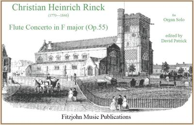 """Picture of Sheet music  by Christian Heinrich Rinck. Written for manuals and pedals this is taken from Rinck's popular """"Organ School"""".  A fine recital work and a good audience piece too."""