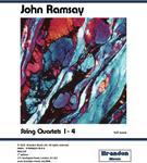 John Ramsay String Quartets 1-4,  Full Score