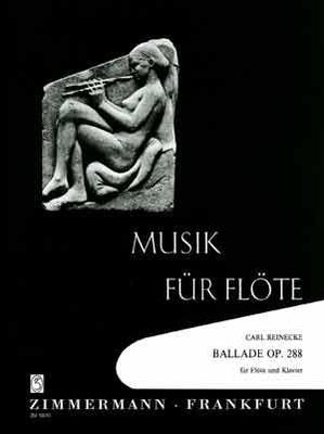 Picture of Sheet music for flute and piano by Carl Reinecke