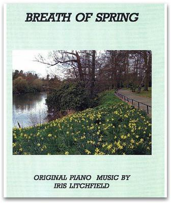 Picture of Sheet music  by Iris Litchfield. Autumn Colours is the first track on the American award winning CD When Evening Falls. It is a melodic, flowing, contemporary piano solo.
