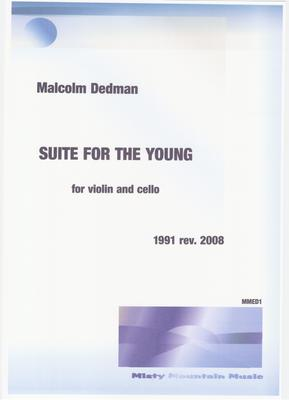 Picture of Sheet music  by Malcolm Dedman. This piece is written for young players or students of violin and cello.