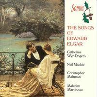 Picture of The Songs of Edward Elgar, performed by Catherine Wyn-Rogers, mezzo-soprano, Neil Mackie, tenor, Christopher Maltman, baritone, with Malcolm Martineau, piano