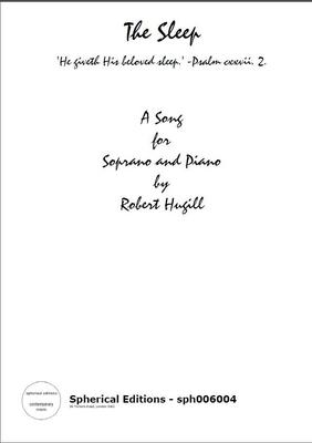 Picture of Sheet music  for soprano and piano. Elizabeth Barrett Browning's inspiring poem set by Robert Hugill