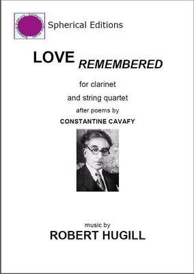Picture of Sheet music  for clarinet, violin, violin, viola and cello by Robert Hugill. Clarinet quintet inspired by poems by the Egyptian poet Constantine Cavafy.