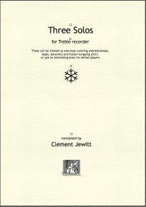 Picture of Sheet music  by Clement Jewitt. 3 solos of varying character