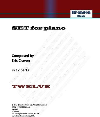 Picture of Sheet music  by Eric Craven. Non-prescriptive piano open for interpretation