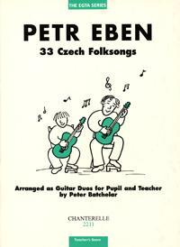 Picture of Sheet music for guitar solo by Petr Eben
