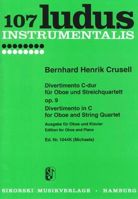 Picture of Sheet music for oboe and piano by Bernhard Crusell