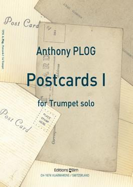 Picture of Sheet music for trumpet or cornet solo by Anthony Plog