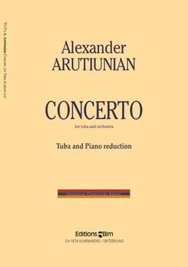 Picture of Sheet music  for tuba (Bb/C/Eb) and piano by Alexander Arutiunian. Sheet music for tuba in Bb, C or Eb and piano
