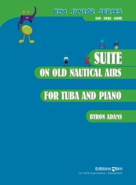 Picture of Sheet music for tuba and piano by Byron Adams