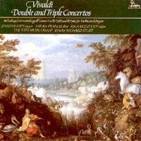 Picture of CD of music by Vivaldi for oboe, organ, violin, strings and continuo, performed by Sarah Francis, Jennifer Bate, Richard Studt Pual Nicholson and the Tate Music Group