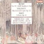 Picture of CD of chamber music by Schumann, Mozart and Bruch performed by Janet Hilton, Nobuko Imai and Roger Vignoles