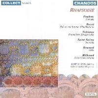 Picture of CD of French music for clarinet and piano by Poulenc, Ravel, Debussy, Saint-Saens, Roussel and Milhaud performed by Janet Hilton and Keith Swallow