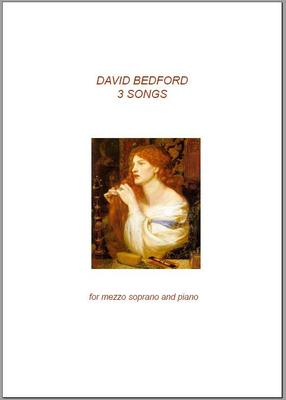 Picture of Sheet music  for piano and mezzo-soprano. Sheet music for voice by David Bedford