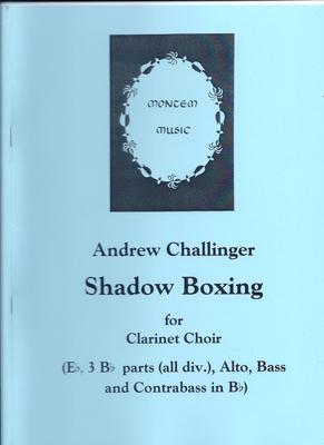 Picture of Sheet music  by Andrew Challinger. Two linked pieces for large clarinet choir. Needs E flat, at least six B flats, alto, bass and contrabass (with an alternative part for contra-alto). The opening, with the feel of a cortège, leads to a rather wild dance. Difficult.