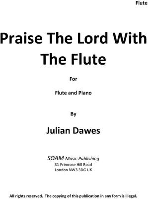 Picture of Sheet music  by Julian Dawes. A Rondo Capriccio for Flute and Piano