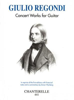 Picture of Sheet music for guitar solo by Guilio Regondi
