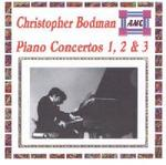 Picture of CD of Piano Concertos by Christopher Bodman in a digital realisation edited by the composer