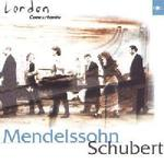 Picture of CD of music by Mendelssohn and Schubert, performed by the London Concertante Artist: London Concertante, Peter Fisher, Nadia Lasserson and Chris Grist