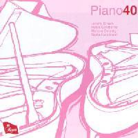Picture of CD of contemporary works for two piano, four hands, performed by Piano40 Artist: Jeremy Brown, Helen Cawthorne, Richard Deering, Nadia Lasserson and Piano40