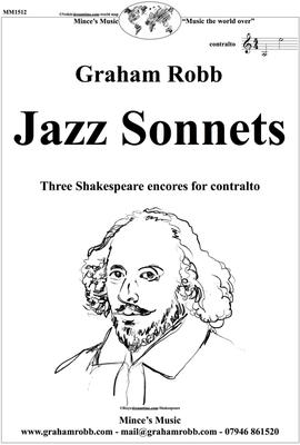 Picture of Sheet music  for contralto and piano by Robb. Three elegant crossover settings for voice and piano of Shakespeare sonnets 40, 41 & 42, which are  linked by the common themes of love and betrayal.