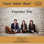 Picture of The Fournier Trio (Sulki Yu, violin, Pei-Jee Ng, cello,  Chiao-Ying Chang, piano) plays works by Fauré, Salter and Ravel.