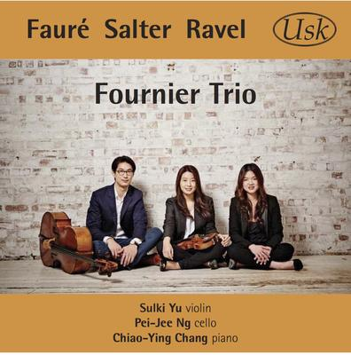 Picture of The Fournier Trio (Sulki Yu, violin, Pei-Jee Ng, cello, 