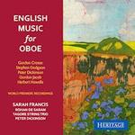 Picture of Oboe music by English composers, performed by Sarah Francis (oboe) with cello, string trio and piano.