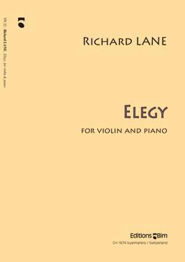 Picture of Sheet music for violin and piano by Richard Lane
