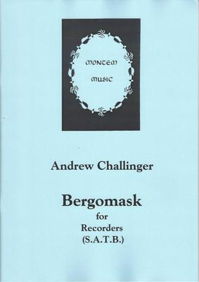 Picture of Sheet music  for descant recorder, treble recorder, tenor recorder and bass recorder by Andrew Challinger. Variations on the sixteenth century Bergamasca for SATB recorder quartet, passing through all twelve major keys at a rapid pace. Not for the faint-hearted.