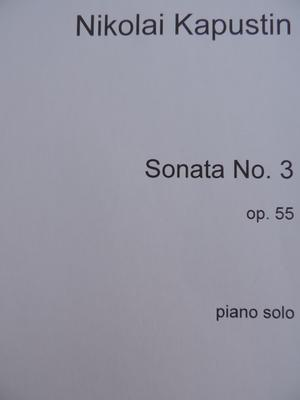 Picture of Sheet Music for piano solo by Nikolai Kapustin.  This publication is printed on demand and will take a little longer before being despatched.