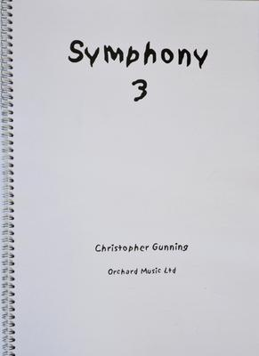 Picture of Sheet music  by Christopher Gunning. Full score, orchestral work in one continuous movement, approx 23 minutes. Recorded by the Royal Philharmonic Orchestra conducted by the composer. Chandos - CHAN 10525