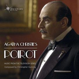 "Picture of CD Agatha Christie's Poirot - Music from the TV Series. Christopher Gunning composed the iconic theme music for ""Agatha Christie's Poirot"" and the incidental music for series 1, and 3-9. DMV103"