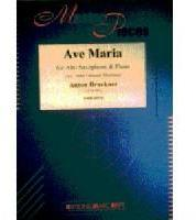 Picture of Sheet music for alto saxophone and piano by Anton Bruckner