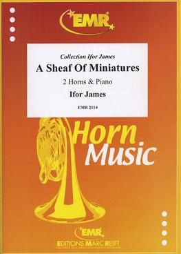 Picture of Sheet music for 2 french horns in Eb or F and piano by Ifor James