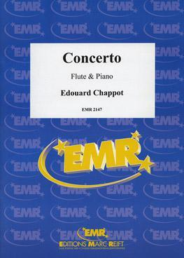 Picture of Sheet music for flute and piano by Edouard Chappot