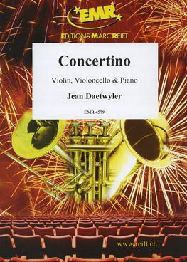 Picture of Sheet music for violin, cello and piano by Jean Daetwyler