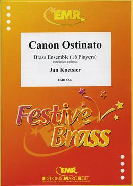 Picture of Sheet music for 2 piccolo trumpets in C, 3 trumpets in Bb or C, flugelhorn in Bb or C, 4 french horns, 4 trombones, 2 tubas and optional timpani and percussion (2 players) by Jan Koetsier
