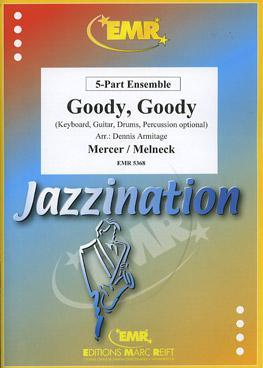 Picture of Sheet music  for violin, flute, oboe, soprano clarinet, clarinet, soprano sax, trumpet (Bb/C), cornet or mallet instruments; violin, clarinet, alto sax or trumpet (Bb/C); violin, viola, clarinet, alto sax, tenor sax, french horn (Eb/F), trumpet (Bb/C), baritone or trombone (bc/tc); cello, bassoon, tenor sax, french horn (Eb/F), baritone or trombone (bc/tc); cello, double bass, bass guitar, bass clarinet, bassoon, baritone sax, baritone, trombone (bc/tc) or tuba (Bb/C/Eb); electric keyboard (optional); guitar (optional); percussion (optional). Sheet music for string, woodwind or brass quintet with optional electronic keyboard, guitar and percussion by Matt Melneck and Johnny Mercer