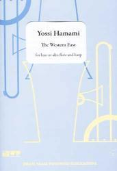Picture of Sheet music for alto or bass flute and harp by Yossi Hamami