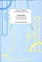 Picture of Sheet music for piccolo and piano by Yossi Hamami