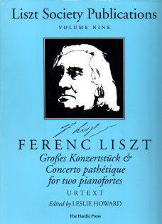 Picture of Sheet music for 2 pianos 4 hands by Franz Liszt