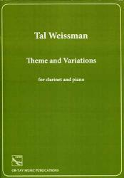 Picture of Sheet music for clarinet and piano by Tal Weissman