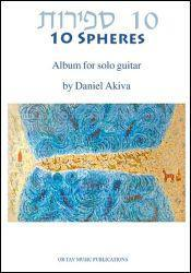 Picture of Sheet music for guitar solo by Daniel Akiva